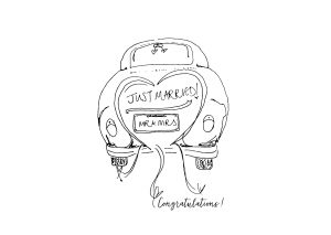 Card – Just Married